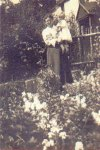 Flora Pound (nee Wakefield) and Vera Stevens (nee Pound)